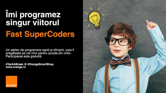 A treia ediție a atelierelor gratuite de iniţiere în programare, Fast SuperCoders