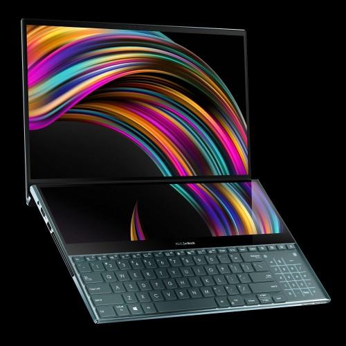 Notebook-ul ASUS ZenBook Pro Duo (UX581) cu ScreenPad Plus a ajuns în România