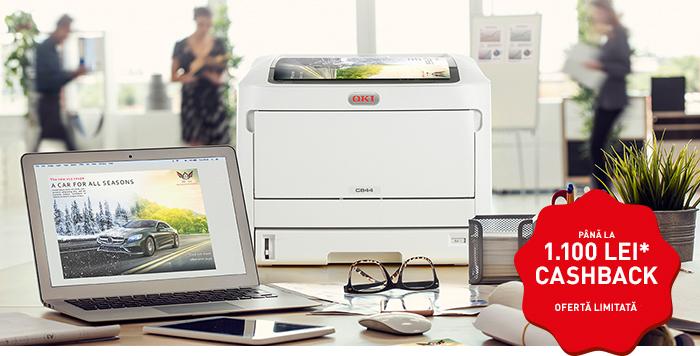 Experienţă supremă pentru client cu imprimantele color A3 de la OKI