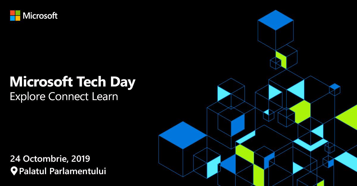 Inovație prin tehnologie și transformare digitală la Microsoft Tech Day