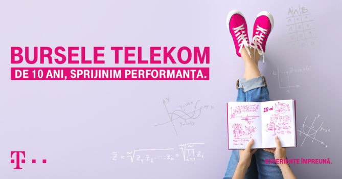 """Bursele Telekom"" susțin performanța tinerilor în educație"