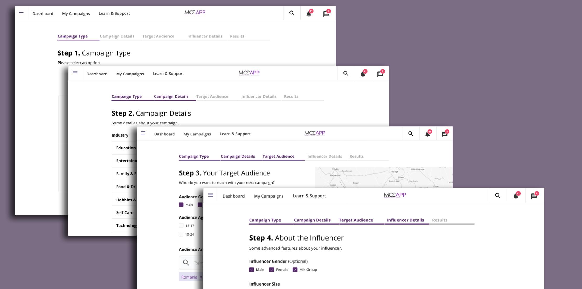 MOCAPP aduce 600 de influenceri și module automatizate pentru campanii de Influencer Marketing