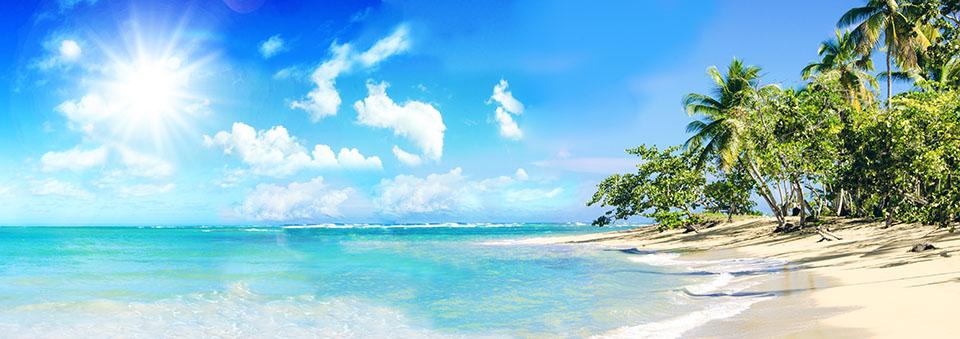 Ferien, Tourismus, Sommer, Sonne, Strand, Meer, Glück, Entspann
