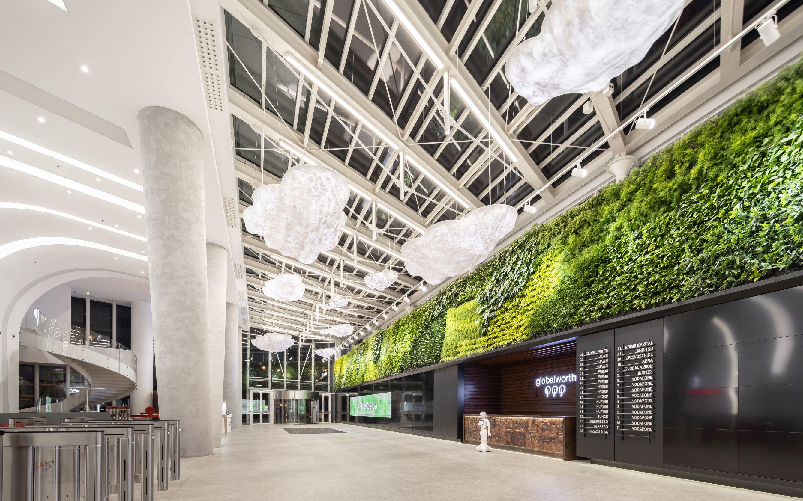 Cea mai mare podea cinetică din lume într-o clădire de birouri