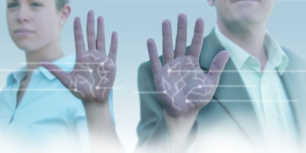 biometric palm vein scanning
