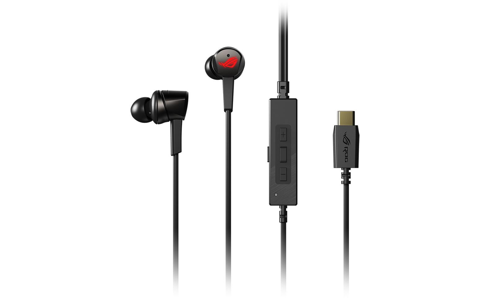Republic of Gamers a lansat căștile intra-auriculare de gaming ROG Cetra cu USB-C