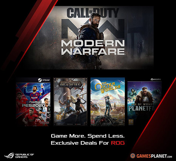 Republic of Gamers anunță programul Game Deals