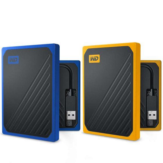 SSD portabil Western Digital My Passport Go:  design ergonomic și rezistență sporită
