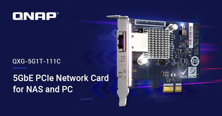 QNAP lansează o placă 5GBASE-T cu patru viteze