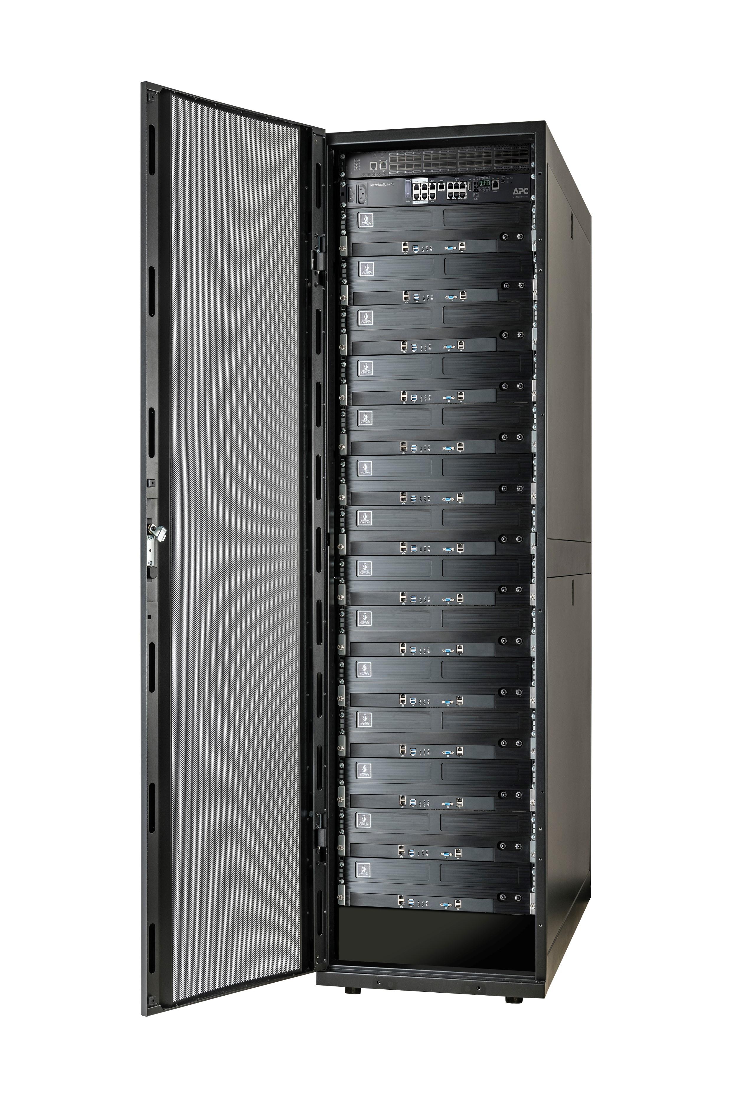 Primul rack integrat din industrie, cu tehnologie de răcire lichidă, pentru centrele de date