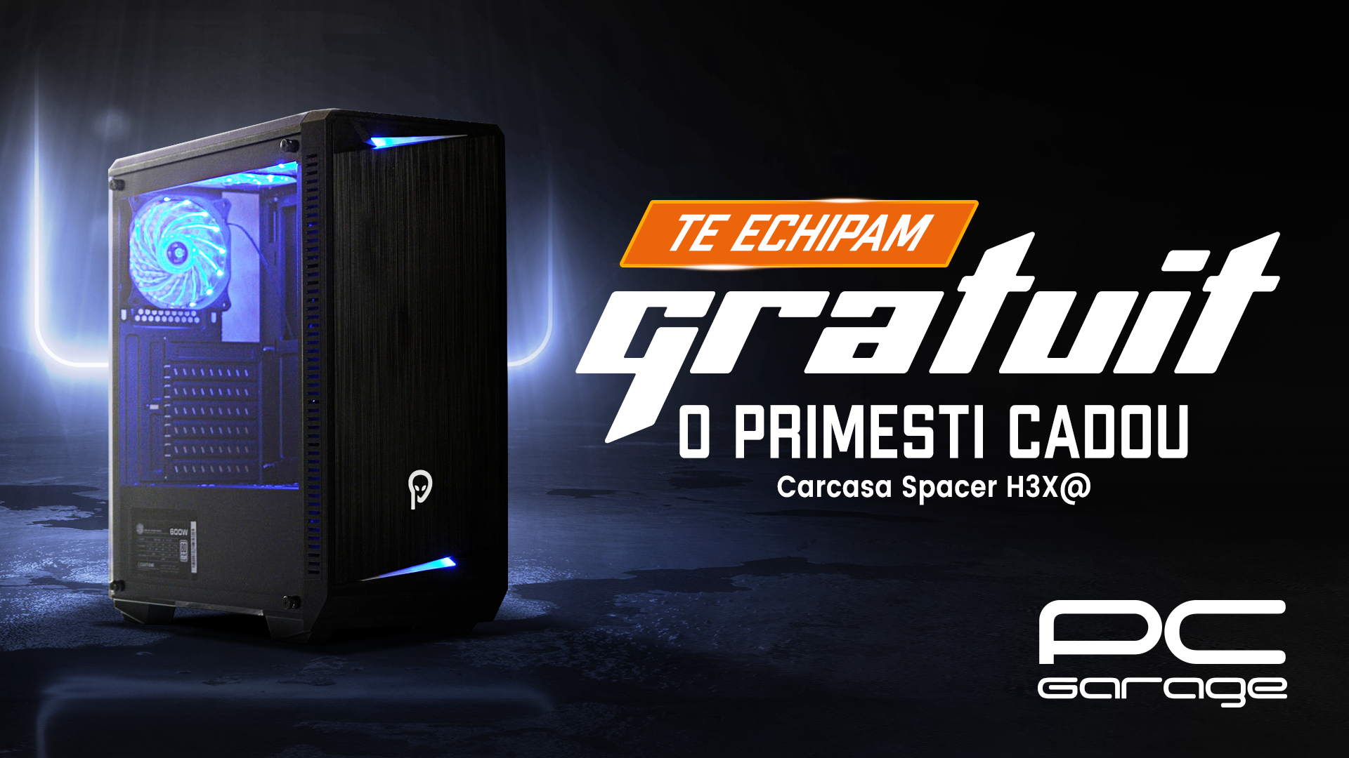 PC Garage oferă cadou o carcasă pentru fiecare platformă hardware compatibilă achiziționată