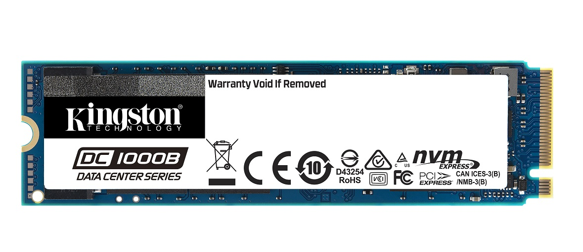 Kingston Technology lansează DC1000B,  un SSD NVMe Enterprise destinat centrelor de date