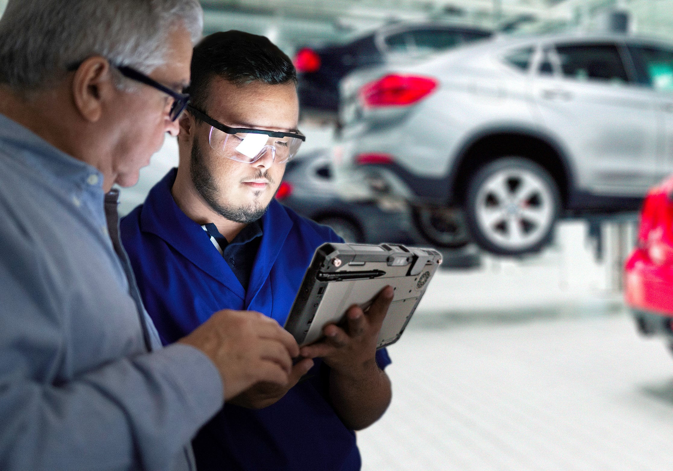 Getac has been selected by BMW Group to supply rugged devices and solutions across its global network for R&D, production, logistics and diagnostics (source Getac)