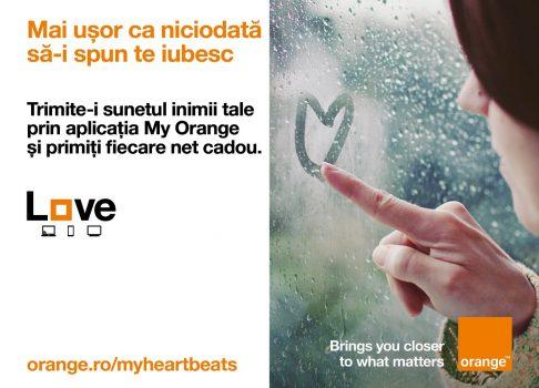 Clienţii Orange sărbătoresc luna iubirii cu My Heartbeats