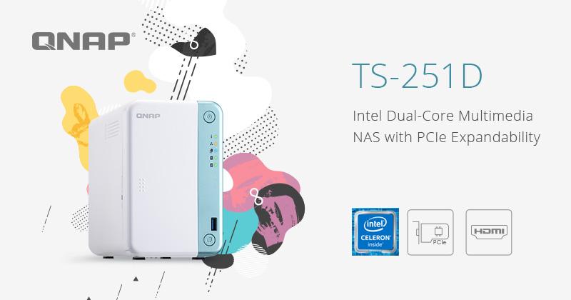 QNAP lansează TS-251D, un NAS cu procesor Intel Dual-Core