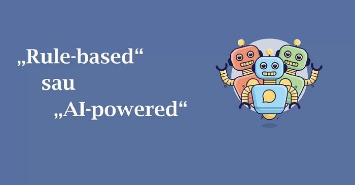 """Care chatbot e mai bun? """"Rule-based"""" vs """"AI-powered"""""""