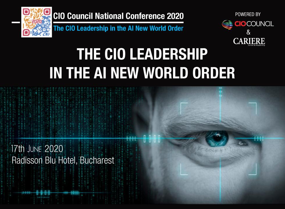 Conferința Națională CIO Council România amânată  pentru data de 17 iunie 2020