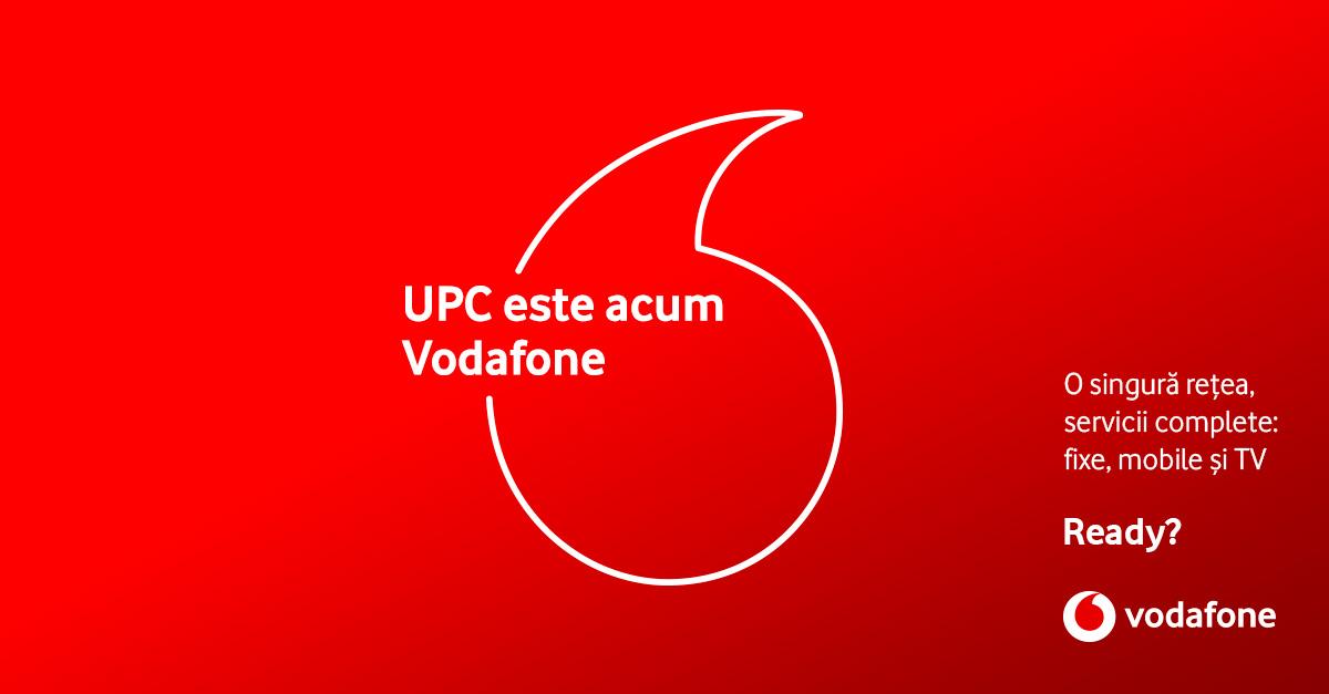Vodafone Romania și UPC au încheiat procesul de fuziune