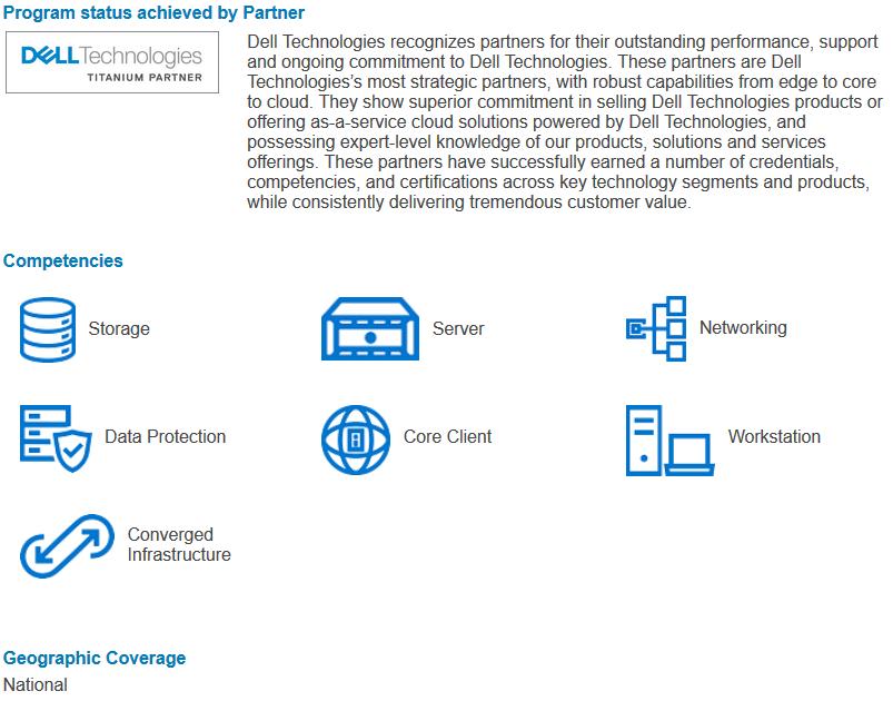 BRINEL își reconfirmă statutul de partener TITANIUM Dell Technologies!