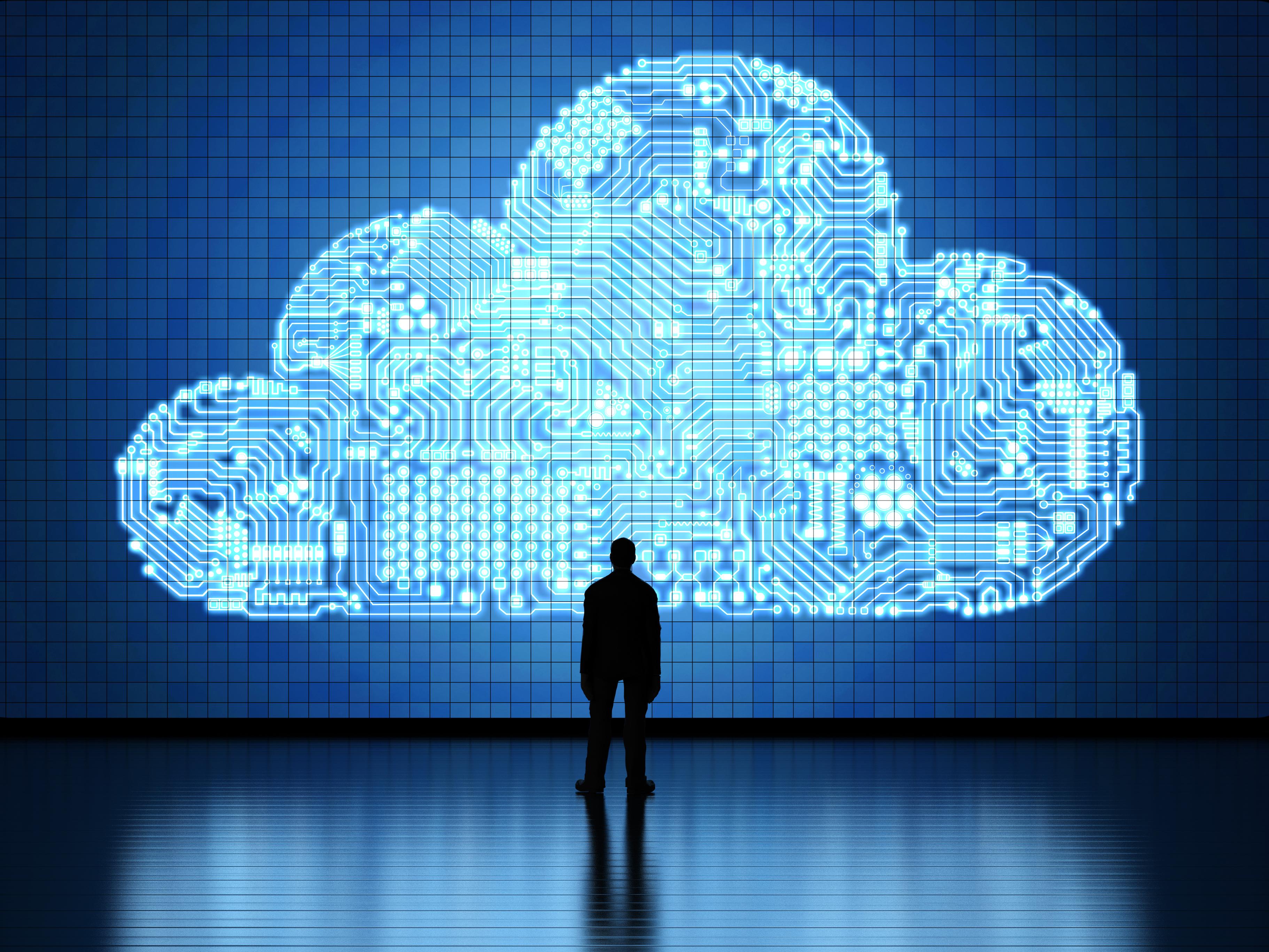 Cifre record pentru infrastructurile cloud