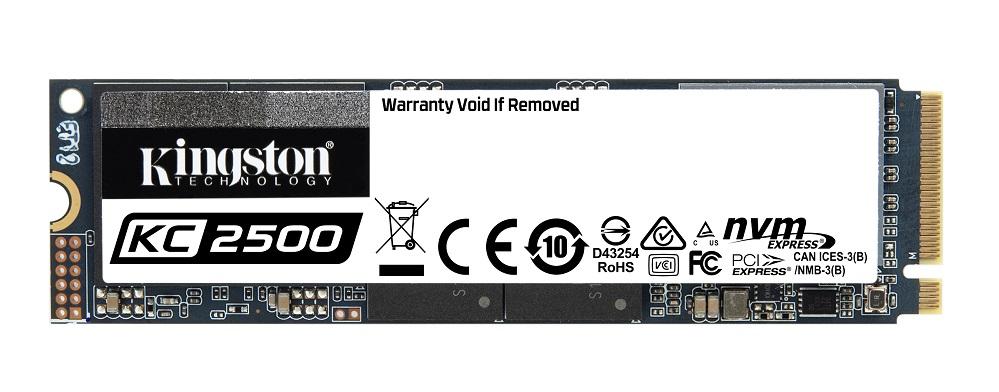 Kingston lansează KC2500, un nou SSD NVMe PCIe