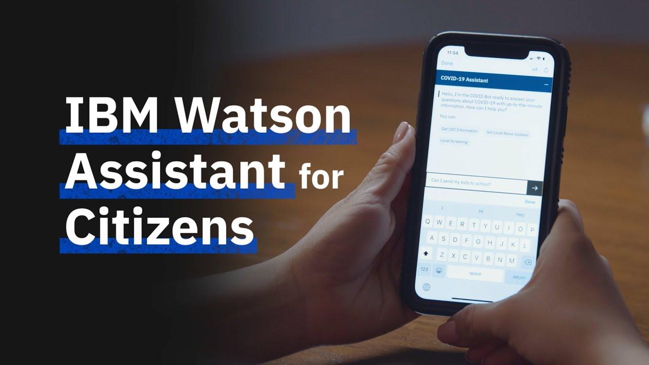 IBM oferă gratuit Watson Asistent pentru a gestiona criza COVID-19