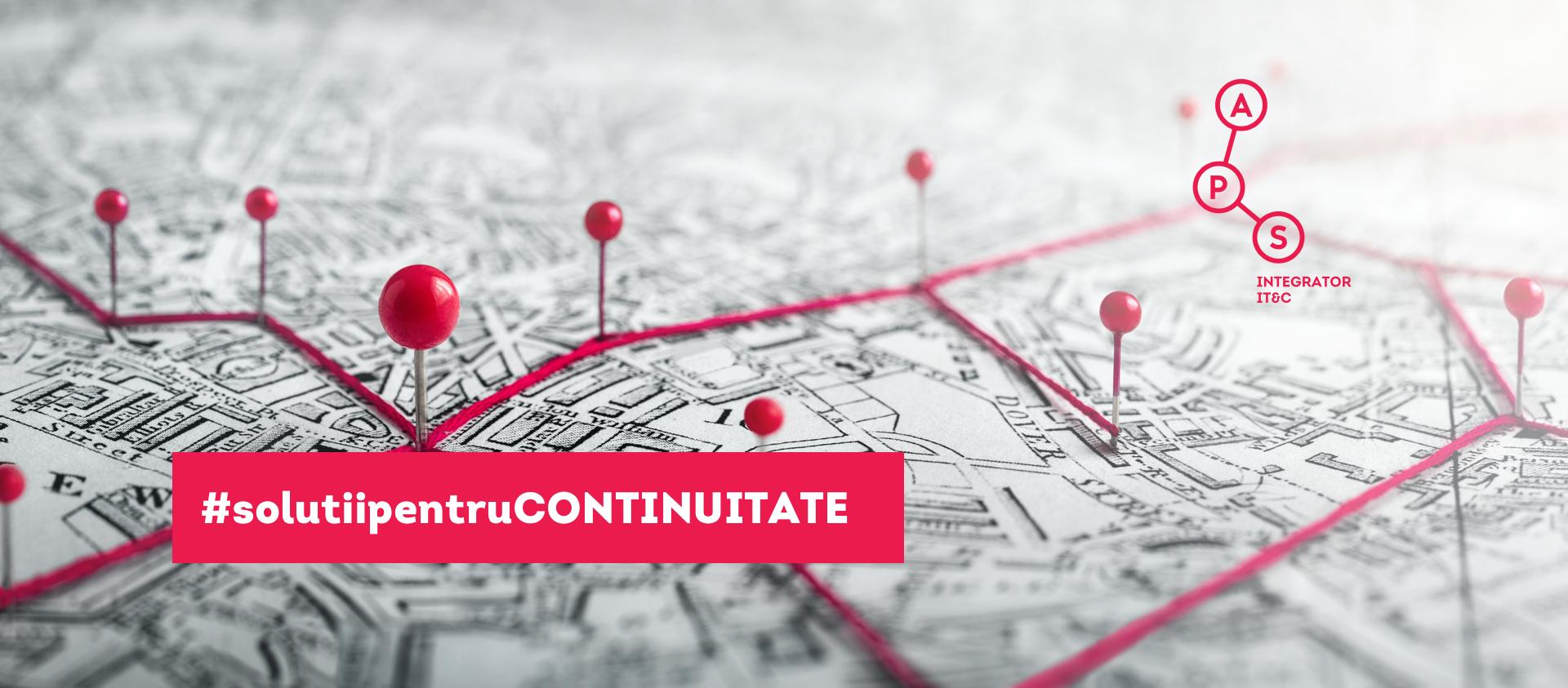 Inițiativa #solutiipentruCONTINUITATE  susține IMM-urile și comunitățile locale