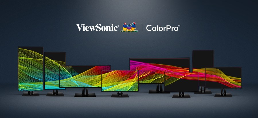 Monitoarele profesionale ViewSonic din seria  ColorPro dedicate fotografilor profesioniști
