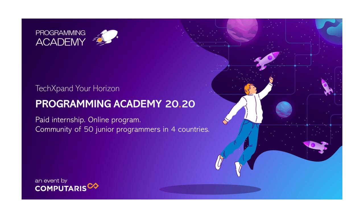 """Încep înscrierile în """"Academia de programare"""""""