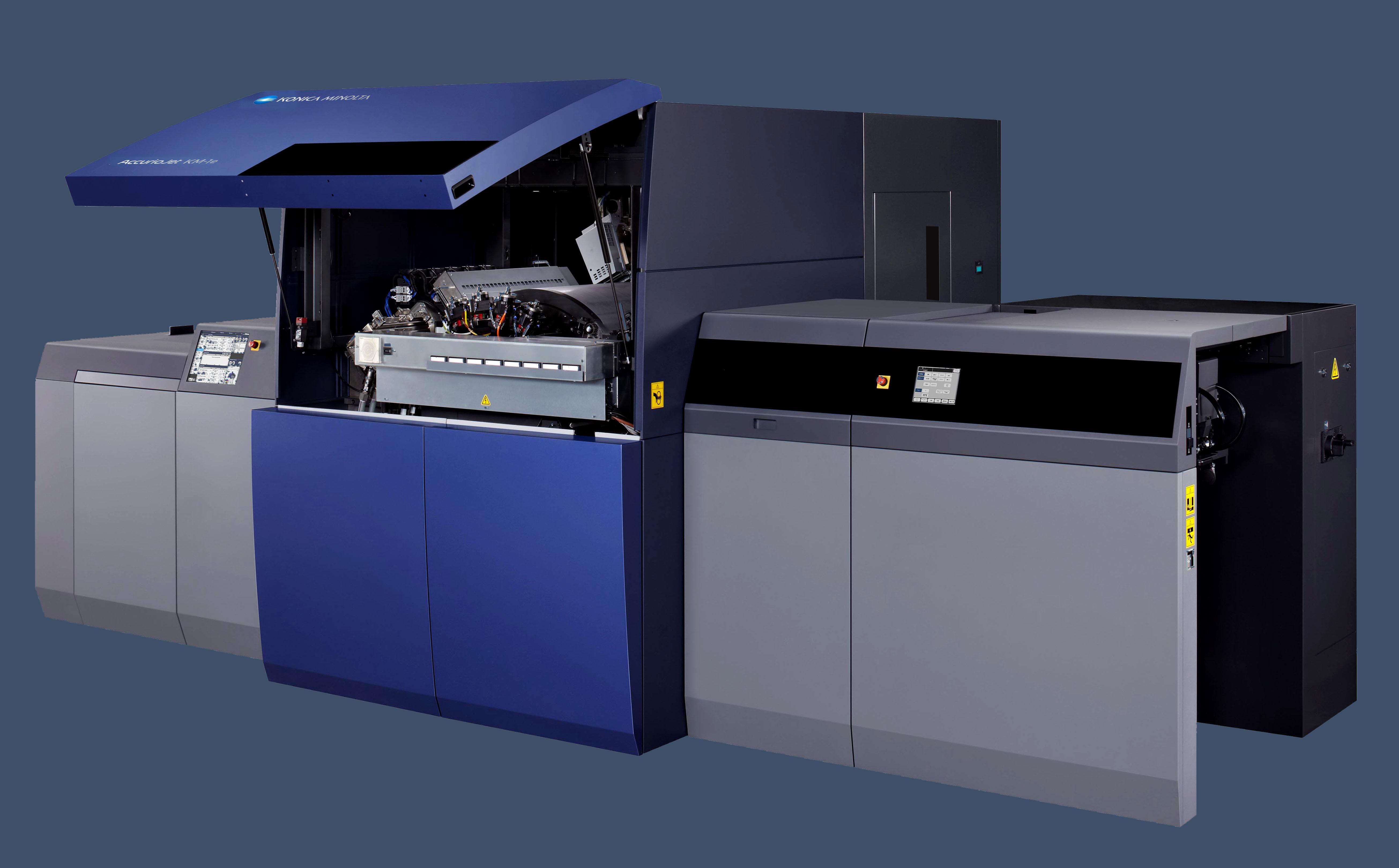 Konica Minolta lansează noul AccurioJet KM-1e B2+ cu tehnologie inkjet UV
