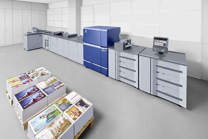 Al doilea sistem digital AccurioPress C14000 instalat într-o tipografie