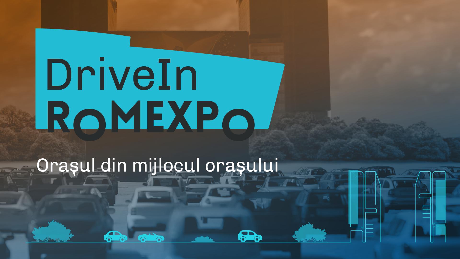 DriveIn Romexpo –  cel mai mare spațiu de evenimente drive-in din București