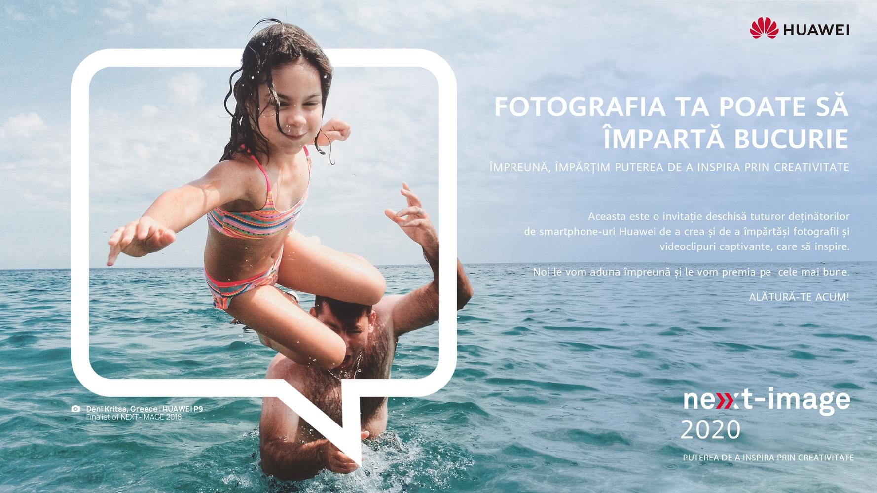 Trei români pe lista câștigătorilor HUAWEI NEXT IMAGE Awards 2020
