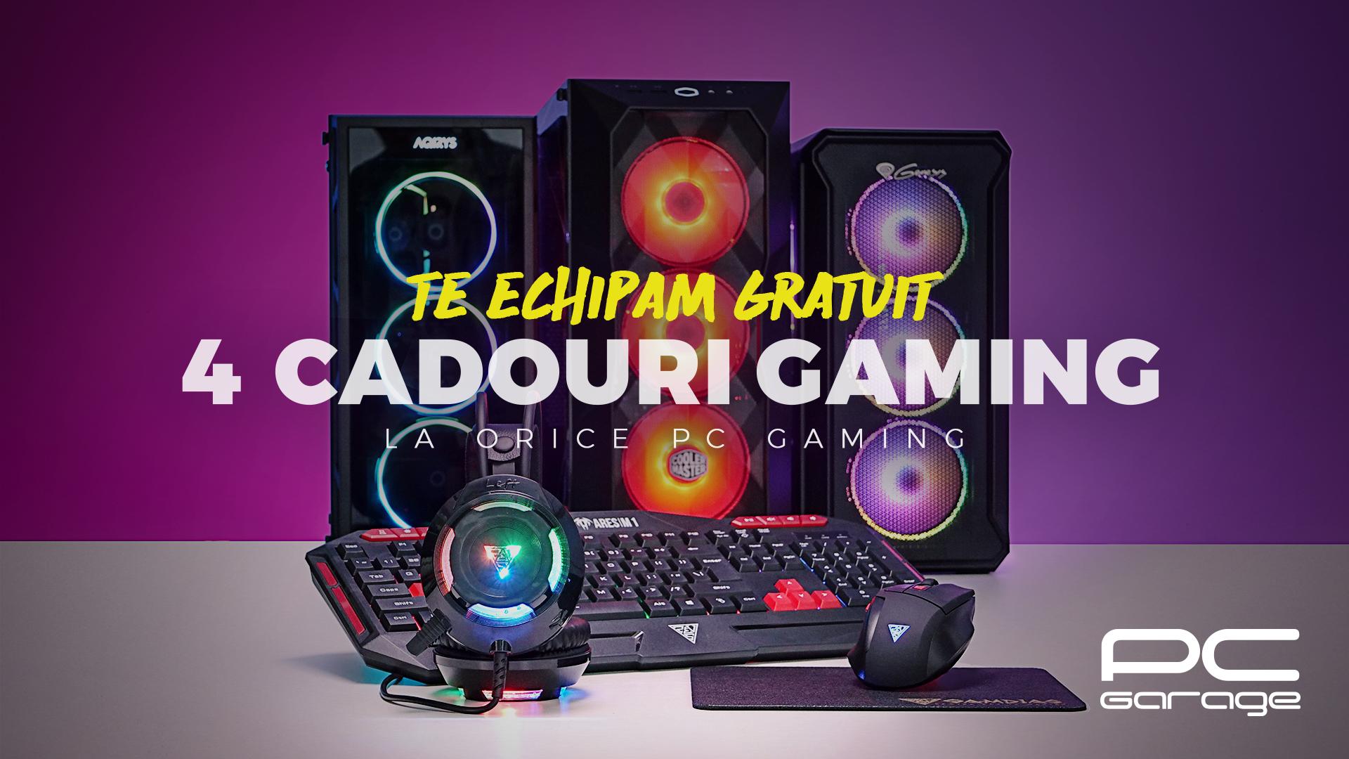 PC Garage oferă cadou 4 periferice de gaming
