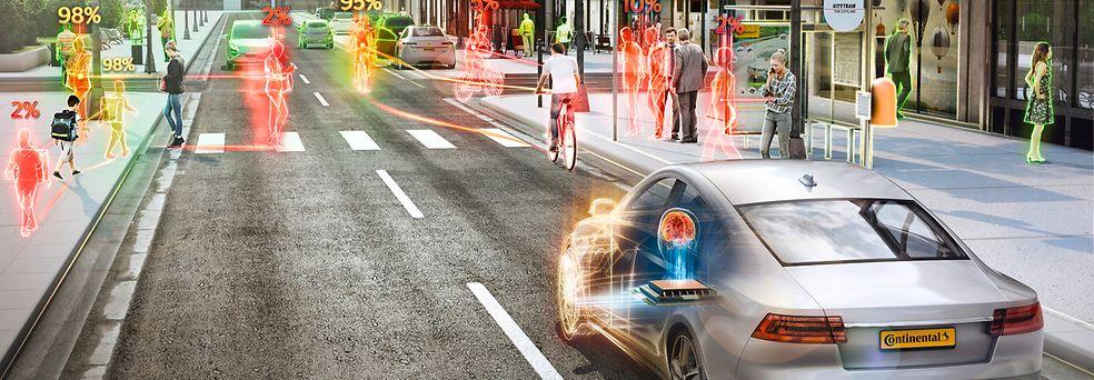 Continental și universitățile cercetează împreună AI pentru a dezvolta conducerea automatizată în orașe