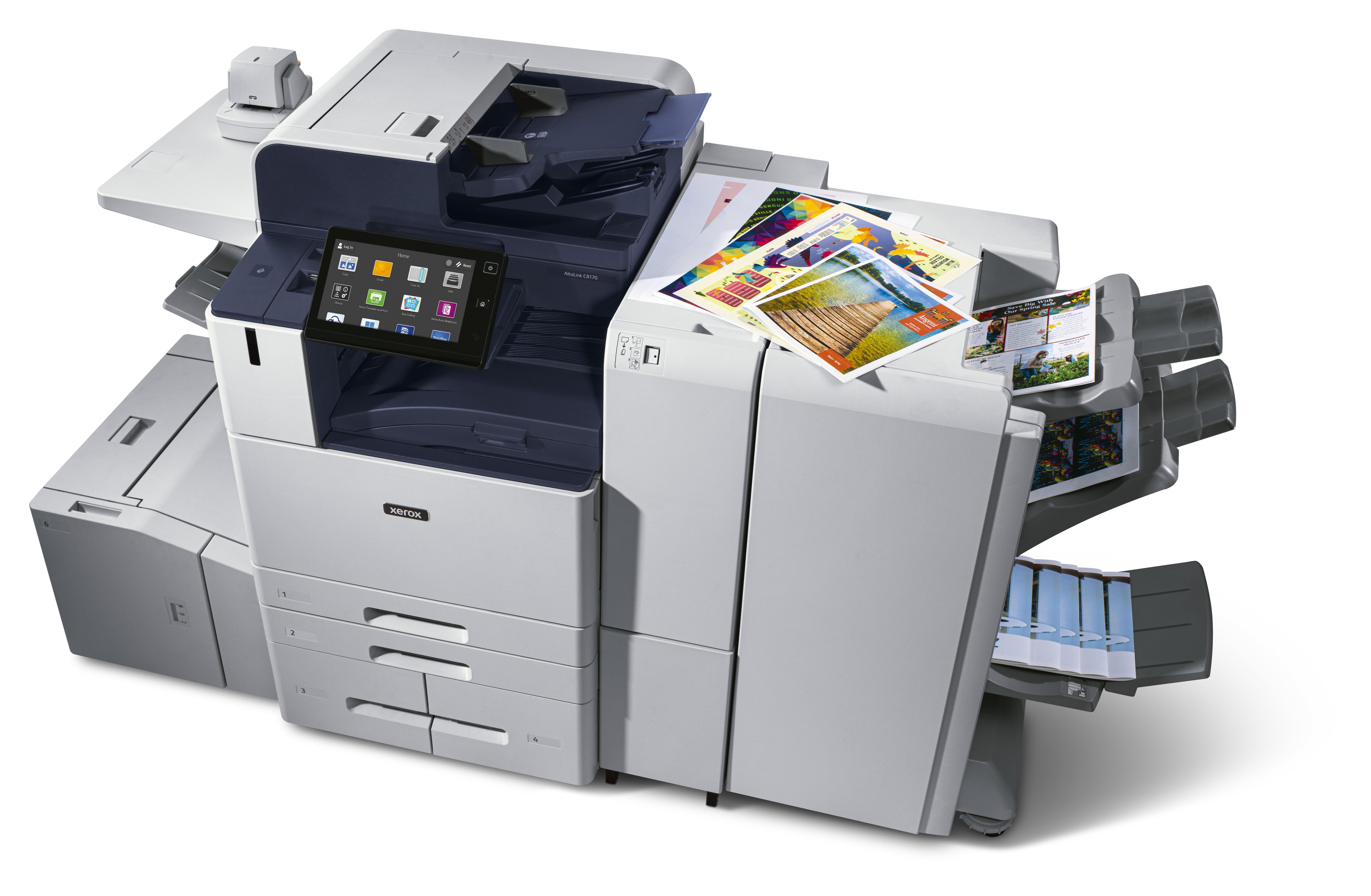 Xerox AltaLinkC8100, asistentul digital la locul de muncă