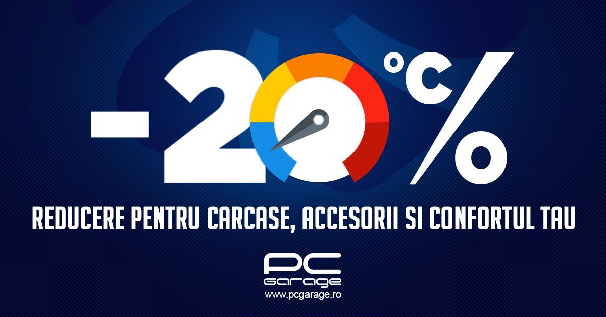 "PC Garage ""scade temperatura"" cu reduceri de 20%"