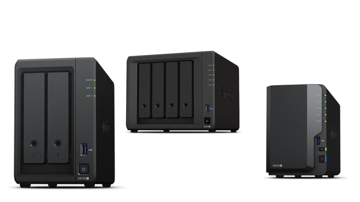 Synology anunţă disponibilitatea modelelor DS220+, DS420+, DS720+ și DS920+