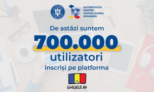 Crește numărul utilizatorilor Ghișeul.ro