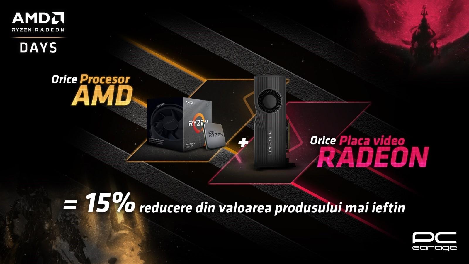 PC Garage dă startul zilelor AMD