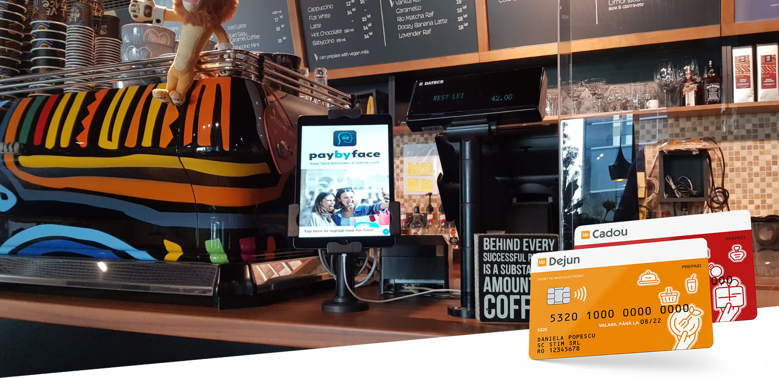PayByFace disponibil pentru utilizatorii de carduri Up România