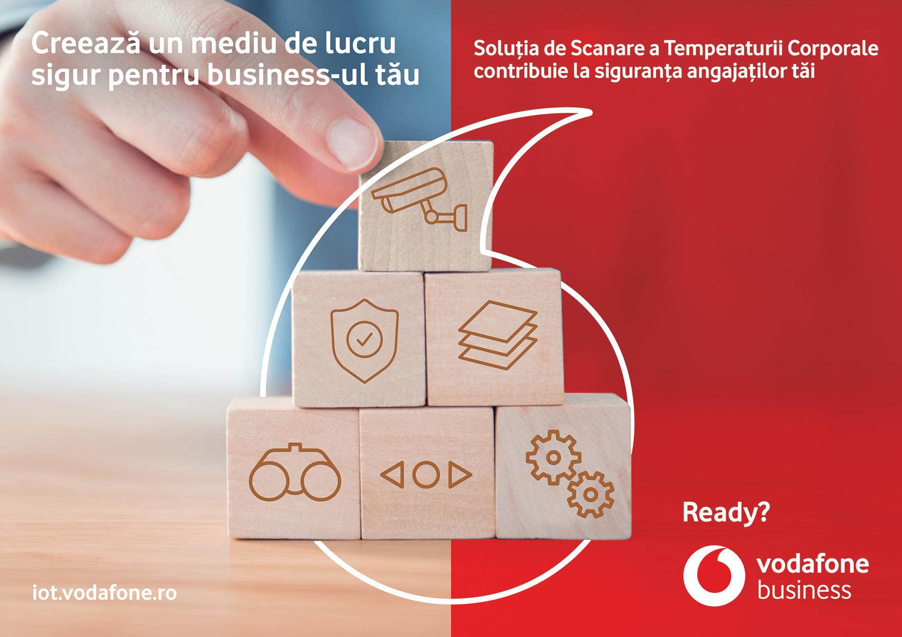 Soluția de Scanare a Temperaturii Corporale de la Vodafone România