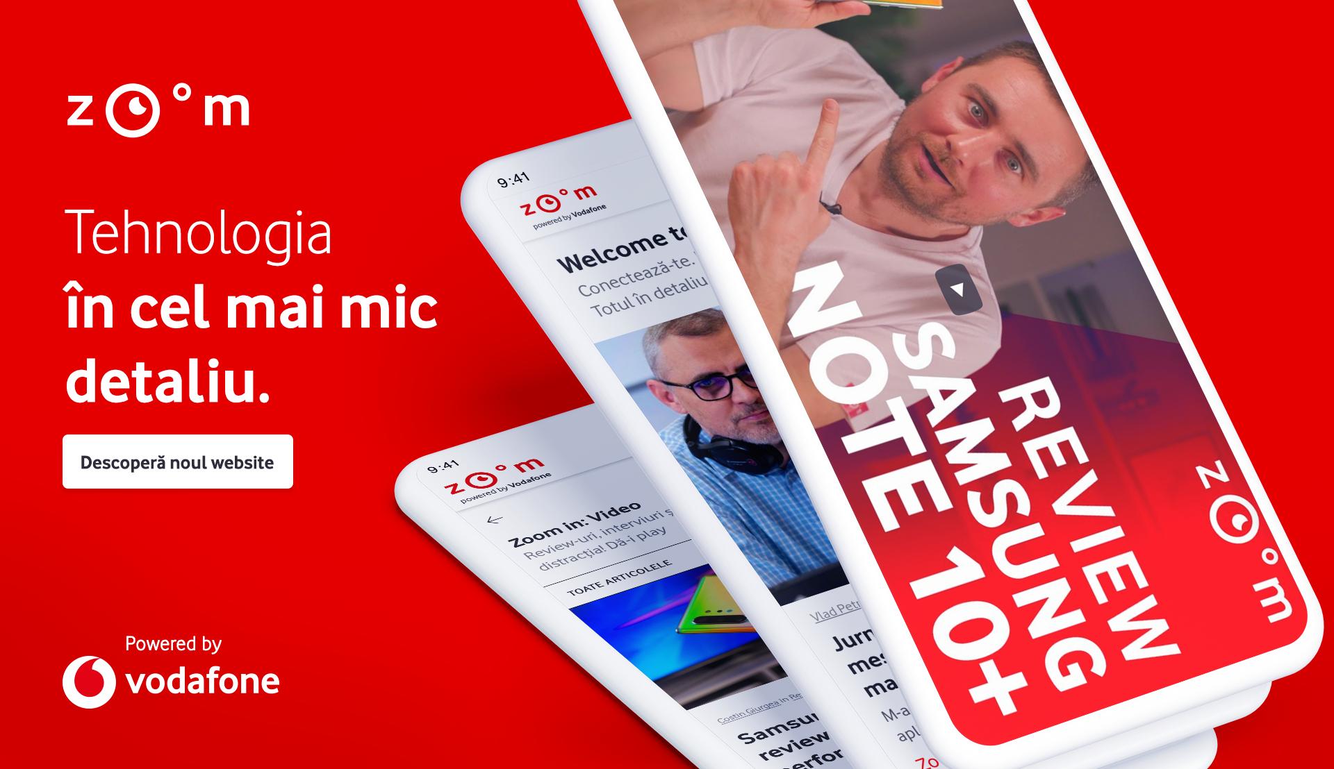 Vodafone Romania lansează o platformă cu conținut despre tehnologie