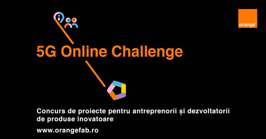 Orange deschide înscrierile pentru 5G Online Challenge