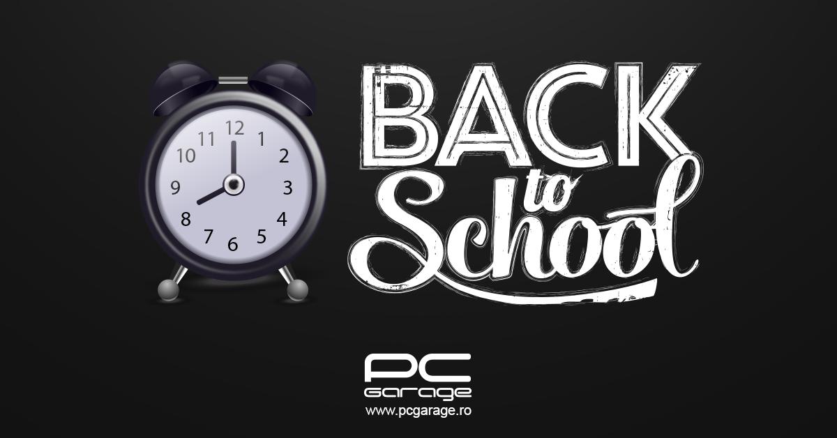 """PC Garage anunţă """"Back to School"""" 2020"""