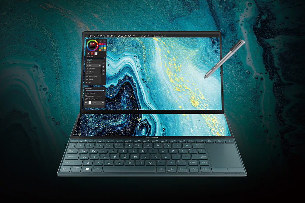 Noua ediție ZenBook Duo (UX481) este disponibilă în România