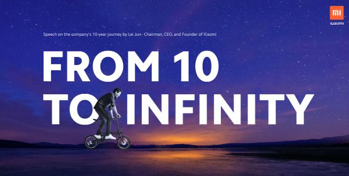 Lei Jun, Președinte Xiaomi: De la 10 la infinit