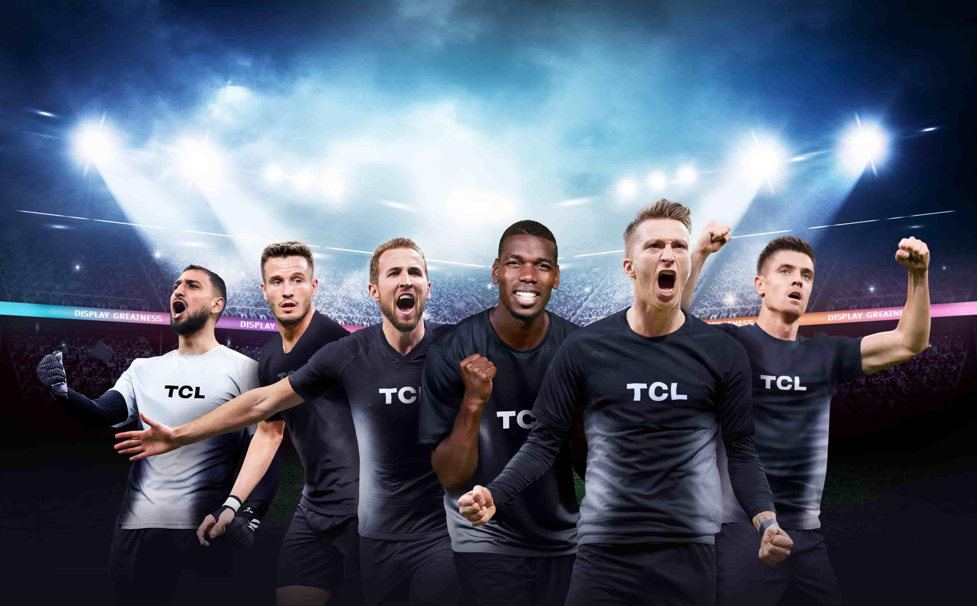Fotbaliștii de top din lume sunt noii ambasadori TCL