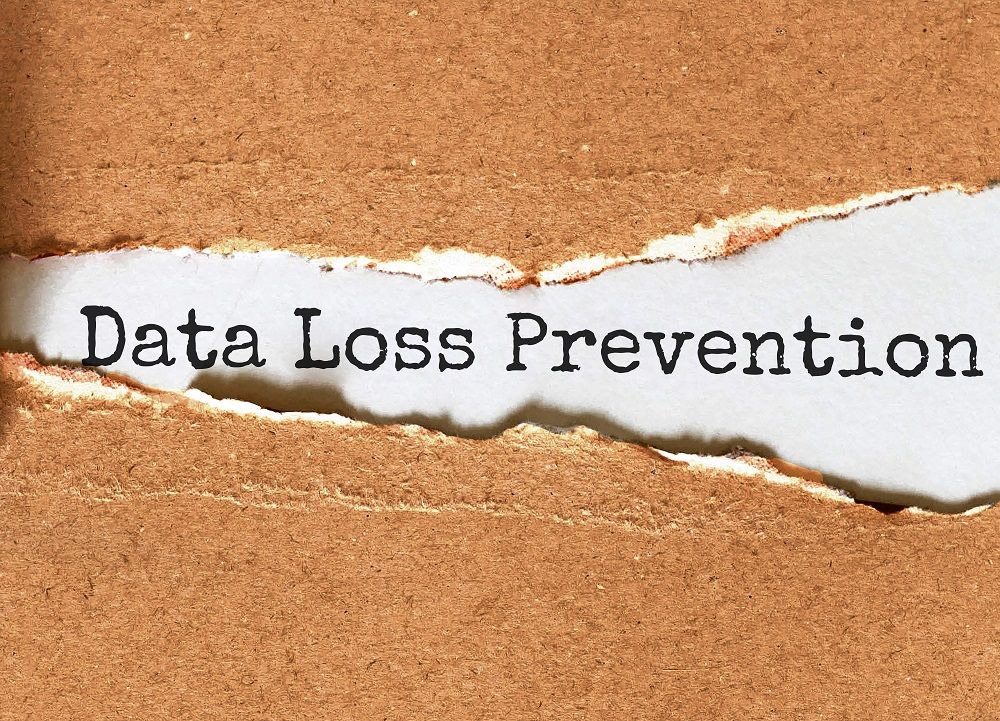 Data Loss Prevention. Your Journey Starts Here / Motivational Inspirational Business Life Phrase Note