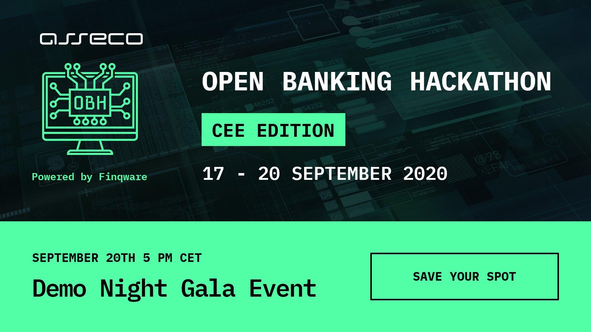 Asseco SEE, partener principal al Open Banking Hackathon